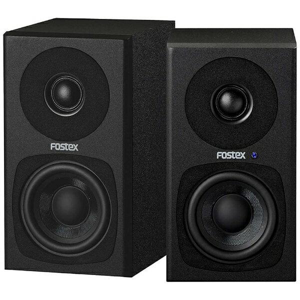 FOSTEX フォステクス PM0.3HBJPN アクティブスピーカー ブラック [ハイレゾ対応][PM0.3HBJPN]