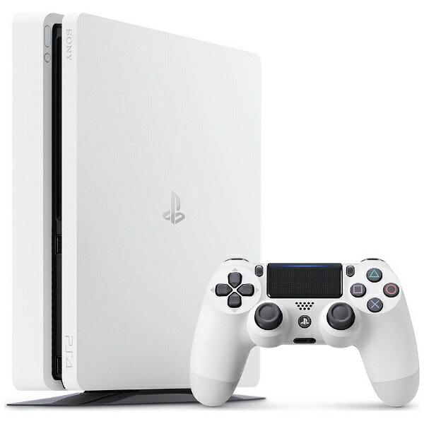 【送料無料】 ソニーインタラクティブエンタテインメント PlayStation 4 (プレイステーション4) グレイシャー・ホワイト 1TB [ゲーム機本体] CUH-2100BB02