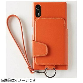 トーモ toomo Xperia XZs / Xperia XZ用 RAKUNI Leather Case with Strap ブリックオレンジ RAK-XpXZs-bko
