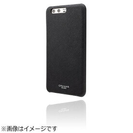 坂本ラヂヲ HUAWEI P10 Plus用 GRAMAS COLORS EURO Passione Shell Leather Case ブラック CLC2077BK