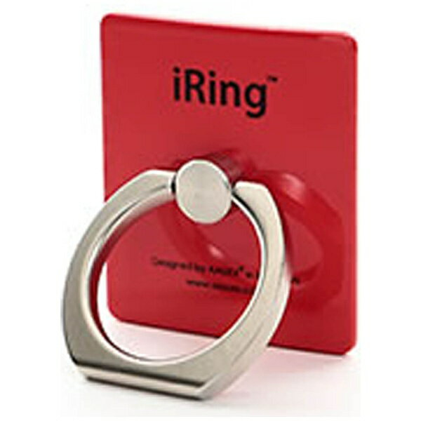 UNIQ 〔スマホリング〕 iRing アイリング レッド UMS-IRLEG01RD