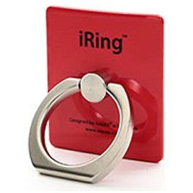 UNIQ ユニーク 〔スマホリング〕 iRing アイリング レッド UMS-IRLEG01RD