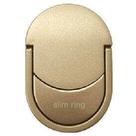 ハセプロ HASEPRO 〔スマホリング〕 slim ring スリムリング ゴールド SLR-02