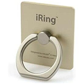 UNIQ ユニーク 〔スマホリング〕 iRing アイリング ゴールド UMS-IR01GO