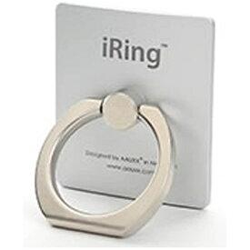 UNIQ ユニーク 〔スマホリング〕 iRing アイリング シルバー UMS-IR01SI