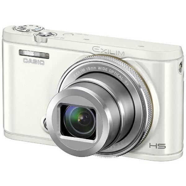 【送料無料】 カシオ コンパクトデジタルカメラ HIGH SPEED EXILIM(エクシリム) EX-ZR4100(ホワイト)[EXZR4100WE]