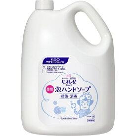 花王 Kao Biore(ビオレ)ビオレu 泡ハンドソープ マイルドシトラスの香り 業務用 4L【rb_pcp】