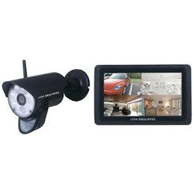 デルカテック DELCATEC 【屋外用】フルHDワイヤレスカメラ&タッチパネルモニターセット WSC610S