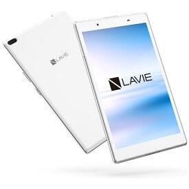 NEC エヌイーシー PC-TE508HAW Androidタブレット LAVIE Tab E ホワイト [8型ワイド /ストレージ:16GB /Wi-Fiモデル][タブレット 本体 8インチ PCTE508HAW]