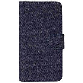 OWLTECH オウルテック スマートフォン用[幅 73mm/5.2インチ] デニム生地 手帳型マルチケース デニム OWL-CVMUM09-DEI