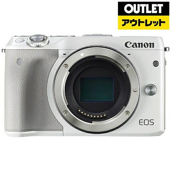 【送料無料】 キヤノン CANON 【アウトレット品】EOS M3【ボディ(レンズ別売)】(ホワイト/ミラーレス一眼カメラ)【生産完了品】EOSM3WHBODY 【kk9n0d36p】