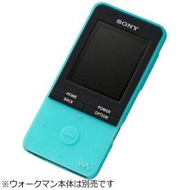 ソニー SONY WALKMAN NW-S310シリーズ用 シリコンケース (ブルー) CKM-NWS310LM[ウォークマン CKMNWS310LM]