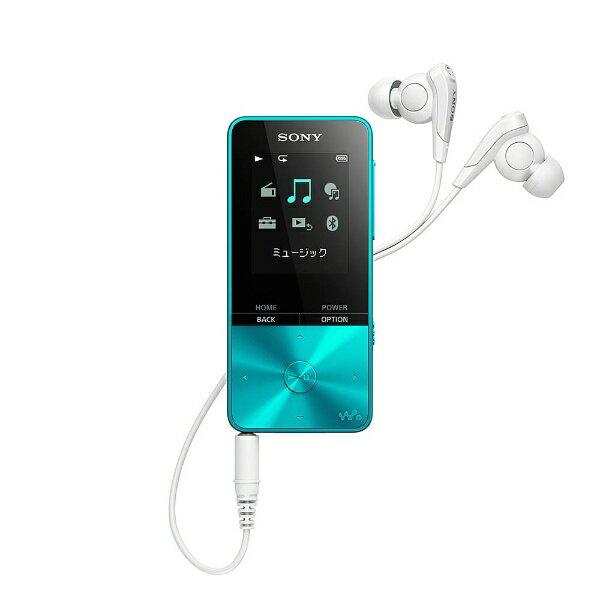 【送料無料】 ソニー デジタルオーディオプレーヤー WALKMAN S310シリーズ (ブルー/16GB) NW-S315 LC 【ワイドFM対応】[NWS315LC]