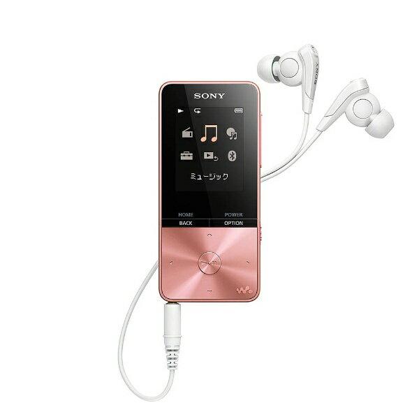 【送料無料】 ソニー デジタルオーディオプレーヤー WALKMAN S310シリーズ (ピンク/4GB) NW-S313 PIC 【ワイドFM対応】[NWS313PIC]