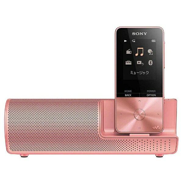 【送料無料】 ソニー デジタルオーディオプレーヤー WALKMAN S310シリーズ (ライトピンク/16GB) NW-S315K PIC  スピーカー付属【ワイドFM対応】[NWS315KPIC]