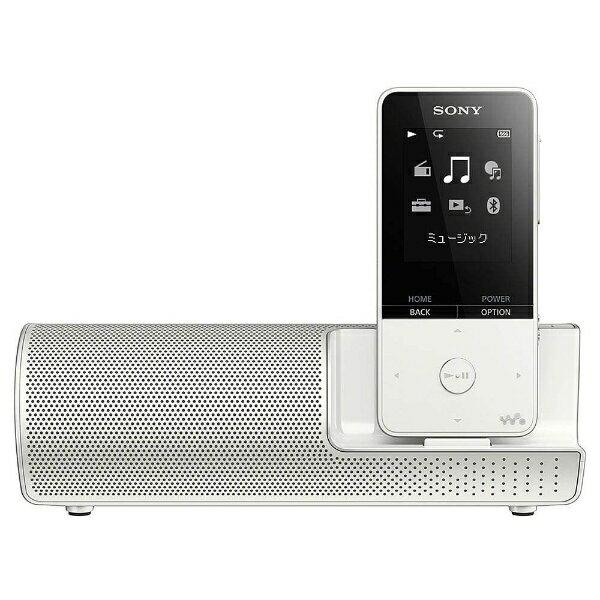 【送料無料】 ソニー デジタルオーディオプレーヤー WALKMAN S310シリーズ (ホワイト/16GB) NW-S315K WC スピーカー付属【ワイドFM対応】[NWS315KWC]
