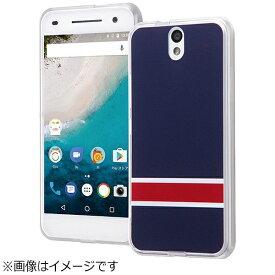 イングレム Ingrem Android One S1用 ハイブリッドケース オリジナルデザイン ネイビー IJ-ANO2CC2/AK097