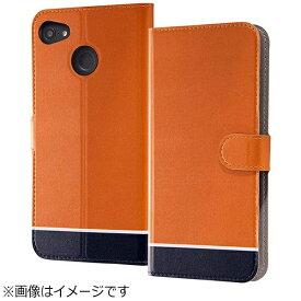 イングレム Ingrem RAIJIN用 手帳型ケース マグネット式 オリジナルデザイン オレンジ IJ-FRAJLC/AK094