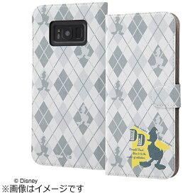 イングレム Ingrem Galaxy S8+用 手帳型ケース マグネット式 ディズニー・ドナルドダック5 IJ-DGS8PMLC/DD005