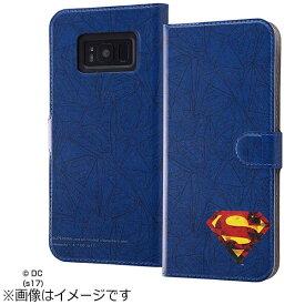 イングレム Ingrem Galaxy S8+用 手帳型ケース マグネット式 スーパーマン18 IJ-WGS8PMLC/SM018