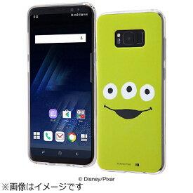 イングレム Ingrem Galaxy S8+用 TPUソフトケース クローズアップ ディズニー・リトルグリーンメン IN-DGS8PH/AL