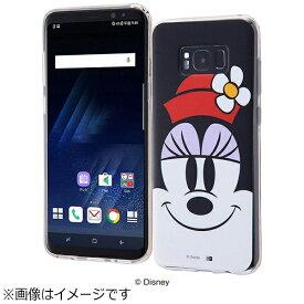 イングレム Ingrem Galaxy S8+用 TPUソフトケース クローズアップ ディズニー・ミニーマウス IN-DGS8PH/MN