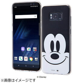 イングレム Ingrem Galaxy S8+用 TPUソフトケース クローズアップ ディズニー・ミッキーマウス IN-DGS8PH/MK
