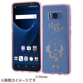 イングレム Ingrem Galaxy S8用 ハイブリッドケース ディズニー・ミニーマウス IN-DGS8U/MN