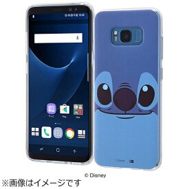 イングレム Ingrem Galaxy S8用 TPUソフトケース クローズアップ ディズニー・スティッチ IN-DGS8H/ST