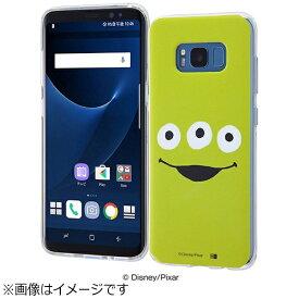 イングレム Ingrem Galaxy S8用 TPUソフトケース クローズアップ ディズニー・リトルグリーンメン IN-DGS8H/AL