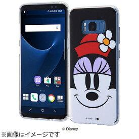 イングレム Ingrem Galaxy S8用 TPUソフトケース クローズアップ ディズニー・ミニーマウス IN-DGS8H/MN