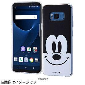 イングレム Ingrem Galaxy S8用 TPUソフトケース クローズアップ ディズニー・ミッキーマウス IN-DGS8H/MK