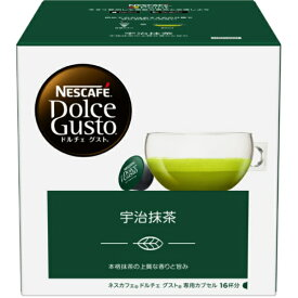 ネスレ日本 Nestle ドルチェグスト専用カプセル 「宇治抹茶」 (16杯分) UJM16001[UJM16001]