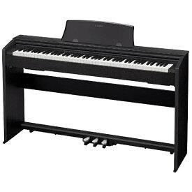 カシオ CASIO 電子ピアノ PX-770BK ブラックウッド調 [88鍵盤][PX770BK]
