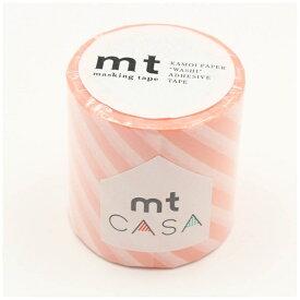 カモ井加工紙 KAMOI mt CASA 50mm(ストライプ・サーモンピンク) MTCA5104