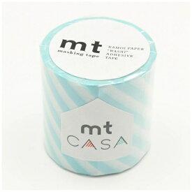 カモ井加工紙 KAMOI mt CASA 50mm(ストライプ・ミントブルー) MTCA5105