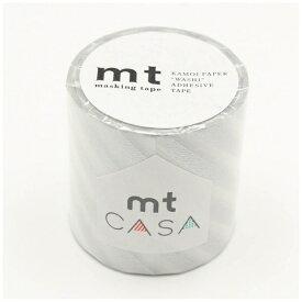 カモ井加工紙 KAMOI mt CASA 50mm(ストライプ・銀) MTCA5106