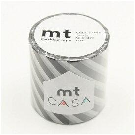 カモ井加工紙 KAMOI mt CASA 50mm(ストライプ・ブラック) MTCA5107