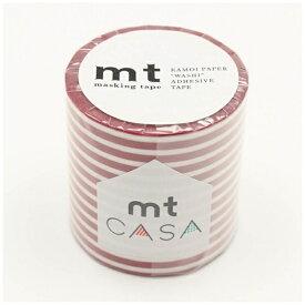 カモ井加工紙 KAMOI mt CASA 50mm(ボーダー・いちご) MTCA5108