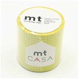 カモ井加工紙 KAMOI mt CASA 50mm(方眼・菜の花) MTCA5112