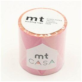 カモ井加工紙 KAMOI mt CASA 50mm(三角とダイヤ・ピンク) MTCA5123
