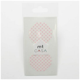 カモ井加工紙 KAMOI mt CASA seal(CASAシール) (ドット・いちごミルク) MTCDS021