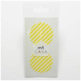 カモ井加工紙 KAMOI mt CASA seal(CASAシール) (ストライプ・レモン) MTCDS023