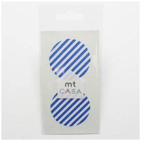 カモ井加工紙 KAMOI mt CASA seal(CASAシール) (ストライプ・ブルー) MTCDS024