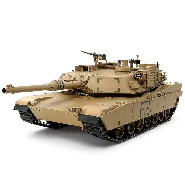 タミヤ TAMIYA 1/16 ビッグタンクシリーズ No.12 アメリカ M1A2 エイブラムス戦車(ディスプレイモデル)