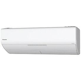 パナソニック Panasonic CS-X288C-W エアコン 2018年 Eolia(エオリア) Xシリーズ クリスタルホワイト [おもに10畳用 /100V][CSX288C+CUX288C] panasonic