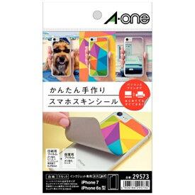エーワン A-one 手作りスマホスキンシール(はがきサイズ(iPhone7/6/6S/8用)) 29573