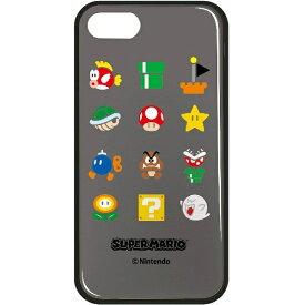 ハセプロ iPhone 7用 Mモデリングケース SUPER MARIO アイコン スーパーマリオ02 MC7