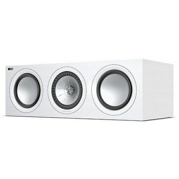 【送料無料】 KEF センタースピーカー 1本 サランネット別売 Q650WH ホワイト