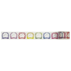 ワールドクラフト world craft スケジュール用マスキングテープ30mm 日付フラワー W01-TM30-0004[W01TM300004]